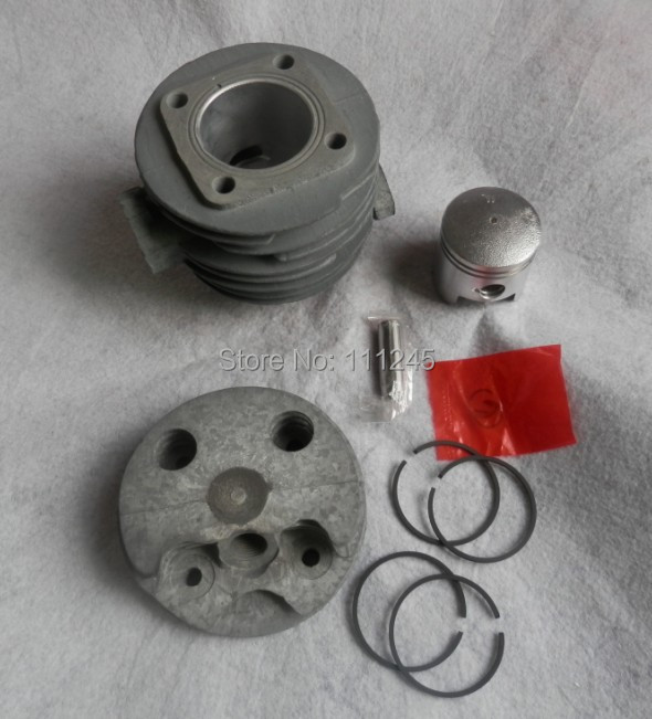 CYLINDER &  PISTON KIT 40MM FISSION TYPE FOR CHINESE 1E40F 40F  PETROL  CYLINDER ASSEMBLY COVER LINER KOLBEN SPARYER PARTS changchai 4l68 engine parts the set of piston piston rings piston pins