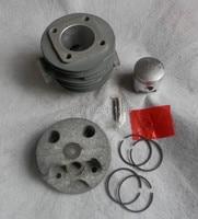CYLINDER &  PISTON KIT 40MM FISSION TYPE FOR CHINESE 1E40F 40F  PETROL  CYLINDER ASSEMBLY COVER LINER KOLBEN SPARYER PARTS|piston assembly|kit kitscylinder piston kit -