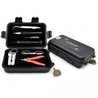New arrival Original THC Tauren Pro Tool Kit Complete kit 9 in 1 DIY jig vape tool kit for E Cigarette vs coil father tool kit