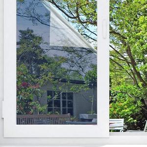 Image 3 - عرض 70 سنتيمتر الشمسية عاكس شباك الفيلم النهار الخصوصية اتجاه واحد مرآة الفضة الزجاج الحرارة التحكم ومكافحة الأشعة فوق البنفسجية للمنزل والمكتب
