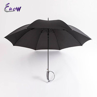 Western Sword Handle 8Ribs Umbrella Long Handle Stronger Waterproof Windproof Rain Umbrella Paraguas