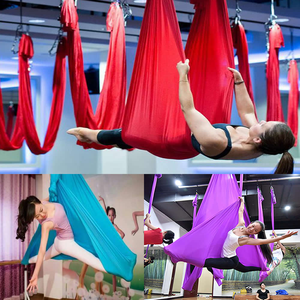 new 2 8mx1m length elastic aerial yoga hammock inversion swing latest multifunction anti gravity sling online get cheap yoga hammock inversion  aliexpress     alibaba      rh   aliexpress