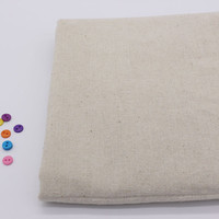 2014 Vintage Patchwork Painting Hemp Cotton Linen Fabric Burlap For Sewing Textile Quilting Tilda Organic Fabrics