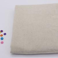 2014 Vintage Patchwork Painting Hemp Cotton Linen Fabric Burlap For Sewing Textile Quilting Tilda Organic Fabrics