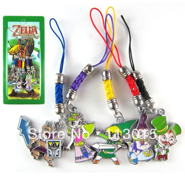 the legend of toys phone charm the minish cap