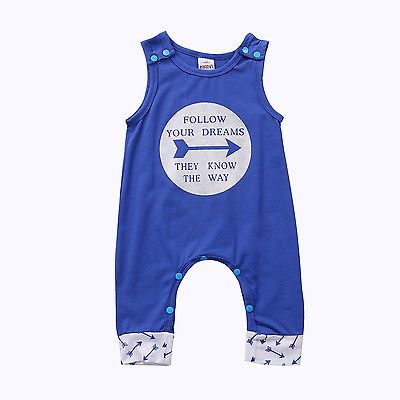 Newborn Infant Baby Boy Girls Romper Jumpsuit Sleeveless Letter Print Baby Onesie Clothes Outfit Unisex Clothing 0-24M newborn baby backless floral jumpsuit infant girls romper sleeveless outfit