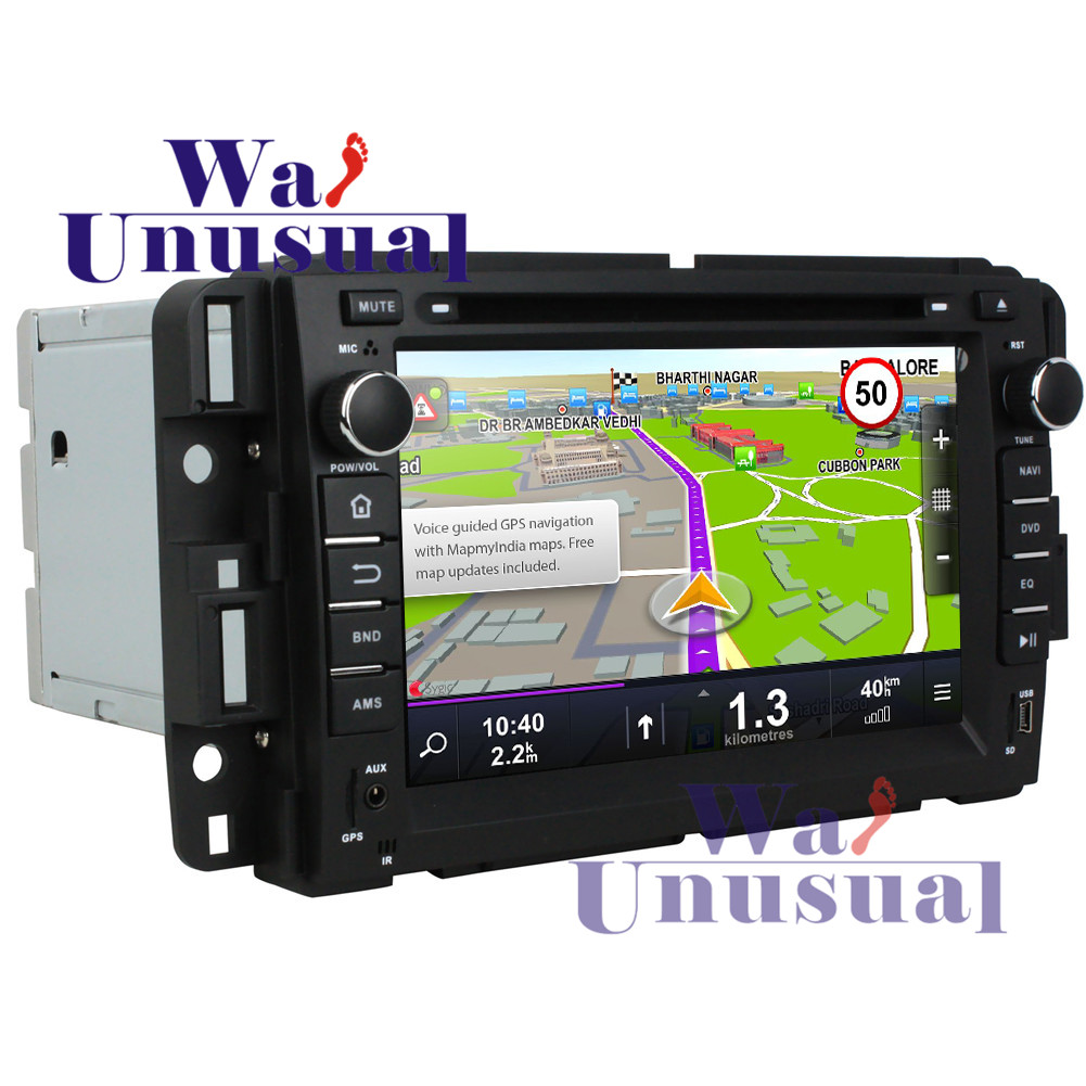 """WANUSUAL 7"""" Quad Core 16G 2G RAM Android 7.1 GPS Navigation for GMC Yukon  2007 2008 2009 2010 2011 2012 with BT WIFI 1024*600-in Car Radios from  Automobiles ..."""