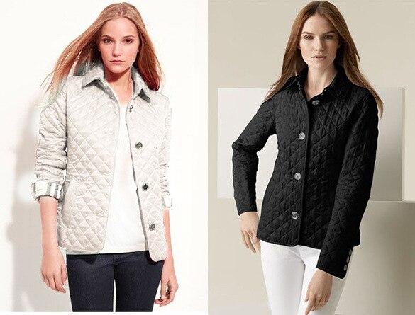 2018 מעילי נשים אביב סתיו נשים מעילים להאריך ימים יותר דק האפליקציה משובצת בגדי מעיל מעיל כותנה מרופד נשים מרופד חיצוני