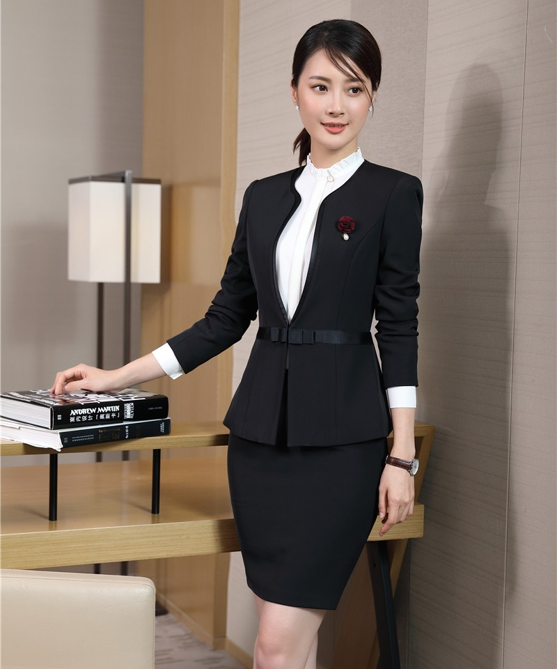 Pant Suits Ladies Navy Blue Blazer Women Business Suits Formal Office Suits Work Wear Uniforms Pant And Jacket Sets Ol Styles