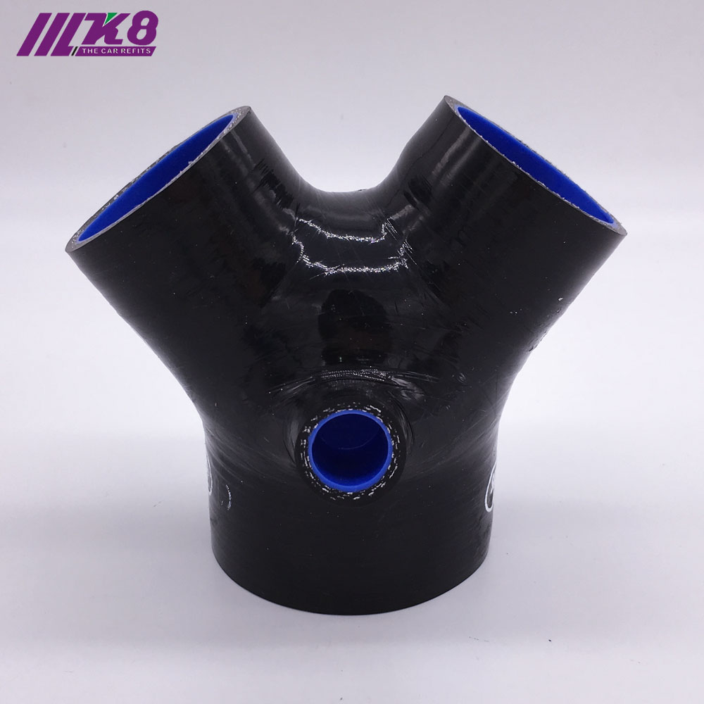 3 Meters Black Silicone Hose For High Temp Vacuum Engine Bay Dress Up 12Mm for Volkswagen Jetta