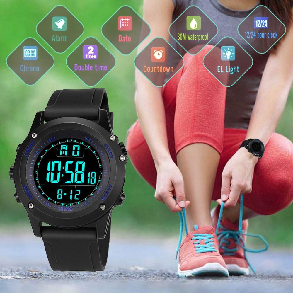 Men Wrist Watch Luxury Analog Military Army Sport LED Waterproof Sports Watches Relogio Digital Esportivo Man Electronic Watch