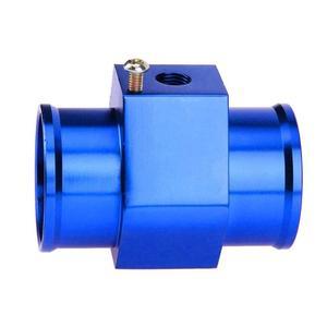 Image 4 - Jauge de température deau bleue jauge de capteur de température tuyau de Joint adaptateur de tuyau de radiateur jauges dautomobiles jauges déchappement accessoires de voiture