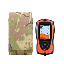 Multi-Function MOLLE Military Portable Belt Case Bag Pouch for LUCKY FF1108-1CWLA/FF1108-1CT/FF1108-1 Fish Finder Accessories цена 2017