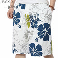 2015 New Design Casual Summer Shorts Korean Loose Beach Pants Men'S Quick-Drying Plus Size Flower Board Shorts Swimwear