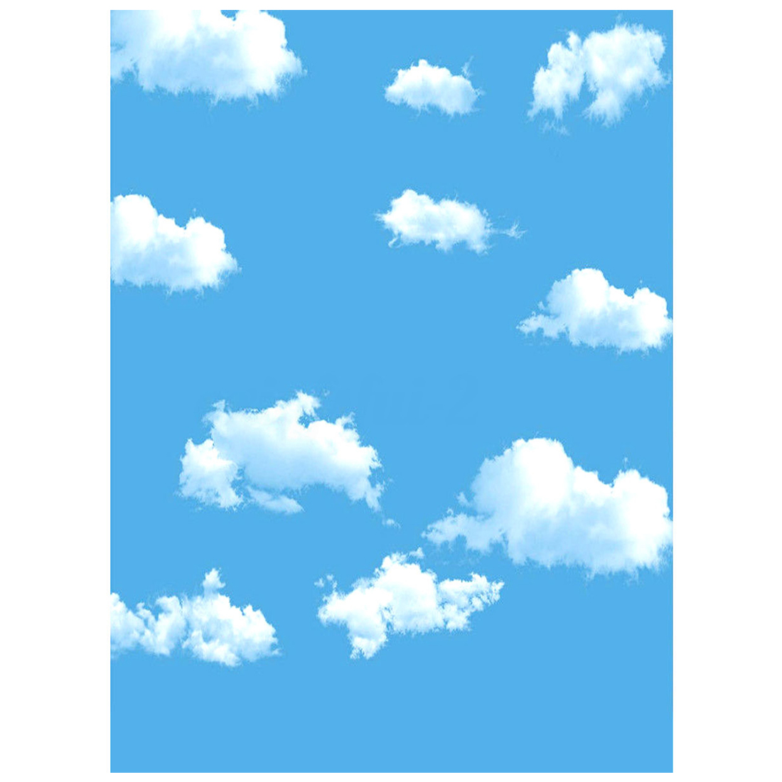 3x5ft Blue Sky White Cloud Photography Backdrop Screen Background Studio Props blue sky чаша северный олень