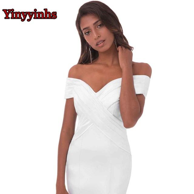 Yinyyinhs Real Picture Off Shoulder Formal Dresses Sweep Train Vestido De Fiesta Mermaid Royal Blue Long Evening Dress 2017 CG81