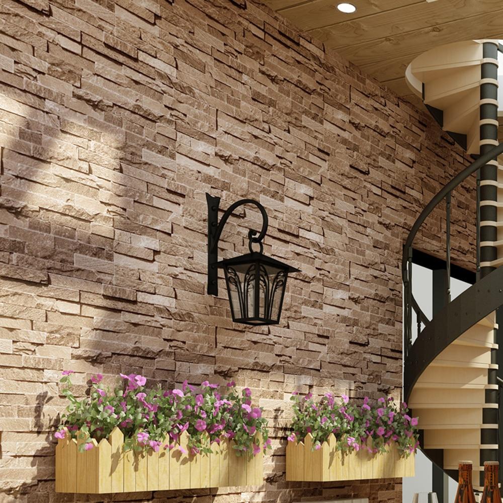 3d Faux Stone Wallpaper Aliexpress Com Buy Haokhome Vintage Faux Brick Wallpaper