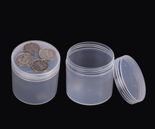 2 шт. круглый полупрозрачная пластиковая коробка ПП-5 Коробка 200 мл Многоразового Бутылки