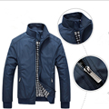 Men's Fashion Casual New Man Mandarin Collar Jacket Autumn Male Jacket Overcoat Clothing
