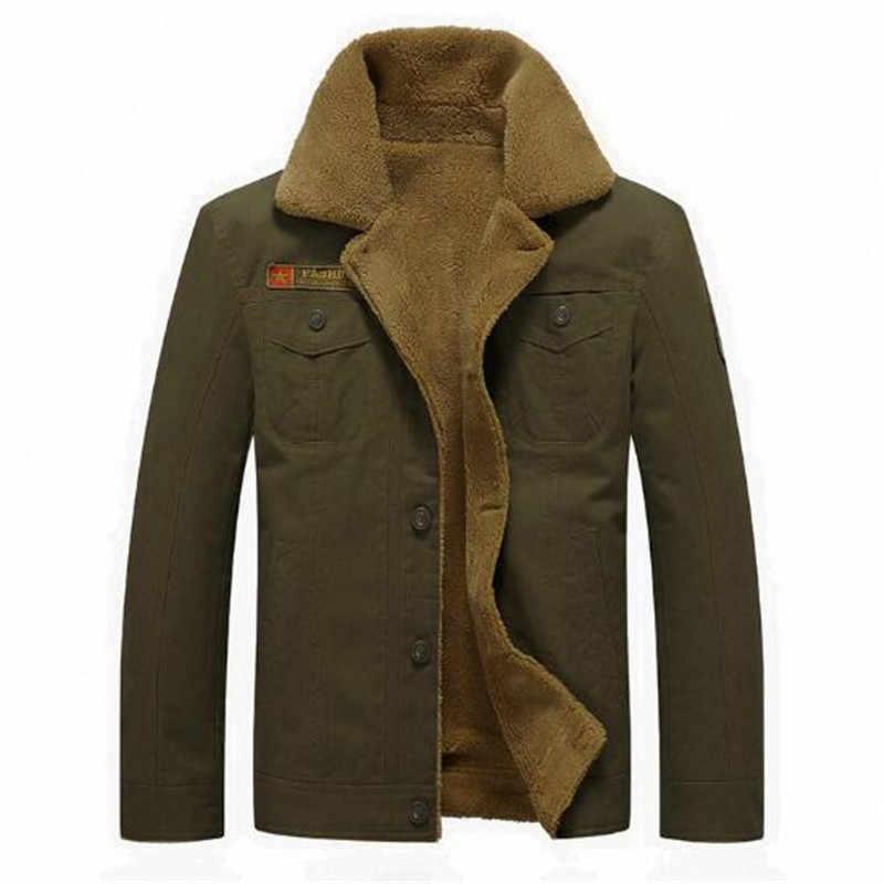 2018 男性のジャケットのコート冬の軍の爆撃機ジャケット男性 Jaqueta Masculina ファッションデニムジャケットメンズコート