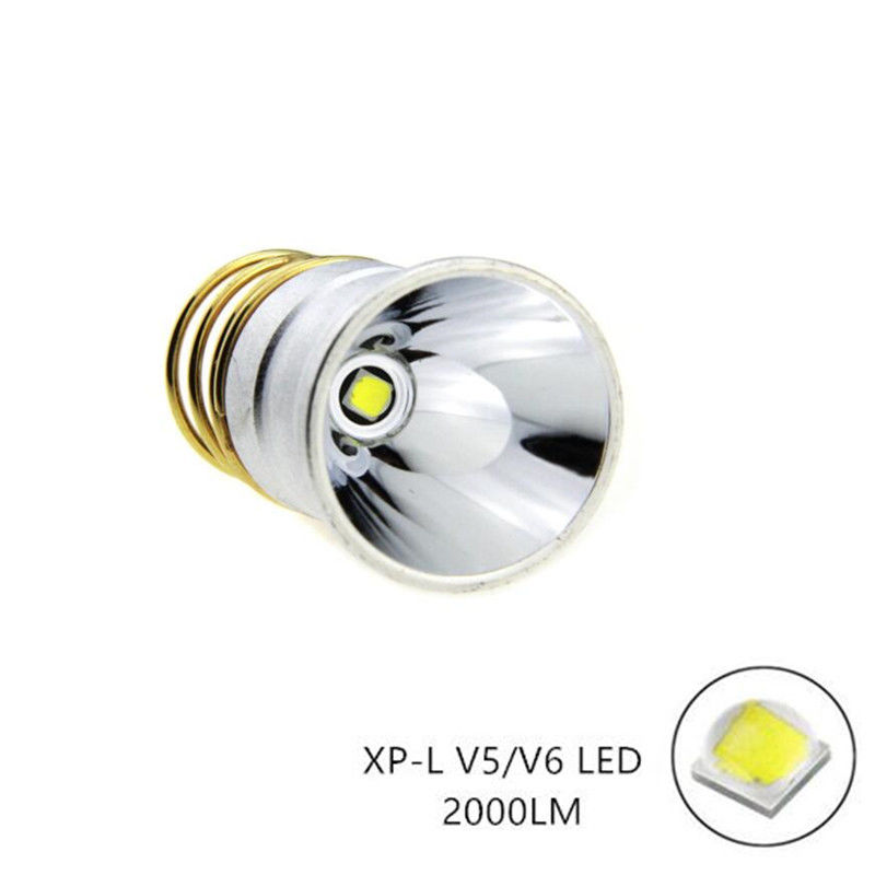 CREE XPL V6 LED 2000Lums 3.7-8.4V Bulb 1-Mode Flashs
