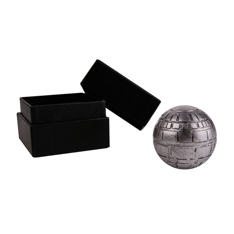 Star Wars Death Star Grinder weed Herb Grinder 3 Layers 49mm sharp Zinc alloy Hand Mulle ...