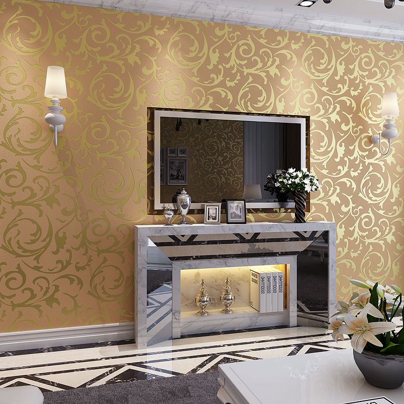 Paper picture more detailed picture about 3d european for 3d wallpaper for living room in dubai