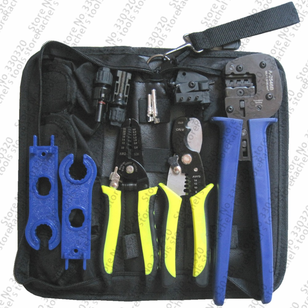 Hand crimping tool kit for Professional Ratchet Crimping Tool for ...
