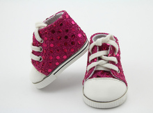 Pink Shining Tennis Doll Shoes For American Girl Doll American Girl Doll accessories