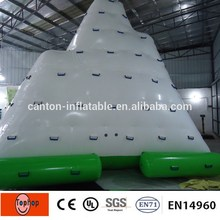 Free shipping! inflatable iceberg slide swimming pool rock climber for water park equipment 4*3*3m 0.9mm PVC tarpaulin(China)
