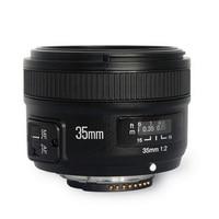 Original YONGNUO YN 35mm Camera Lens F2 Lens 1:2 AF / MF Wide Angle Fixed / Prime Auto Focus Lens For Nikon 7000 D5100 D5000