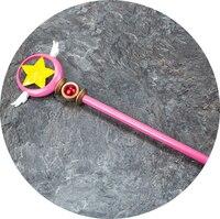 Anime Cardcaptor Sakura KINOMOTO SAKURA Star Wing The magic wand staff weapon Cosplay props Cosplay Accessory