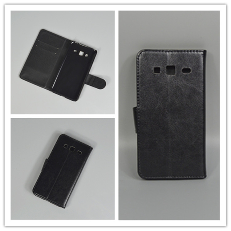 Crystal grain wallet case hold two Cards Holder and pouch slot for Samsung Galaxy J3 (2016) J320 J320F J320P J3109 J320M J320Y
