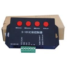 S-101 DMX512 Dream color led controller use for WS2812b WS2811 WS2813 APA102 UCS1903 TM1812 strip light lamp DC5-24V