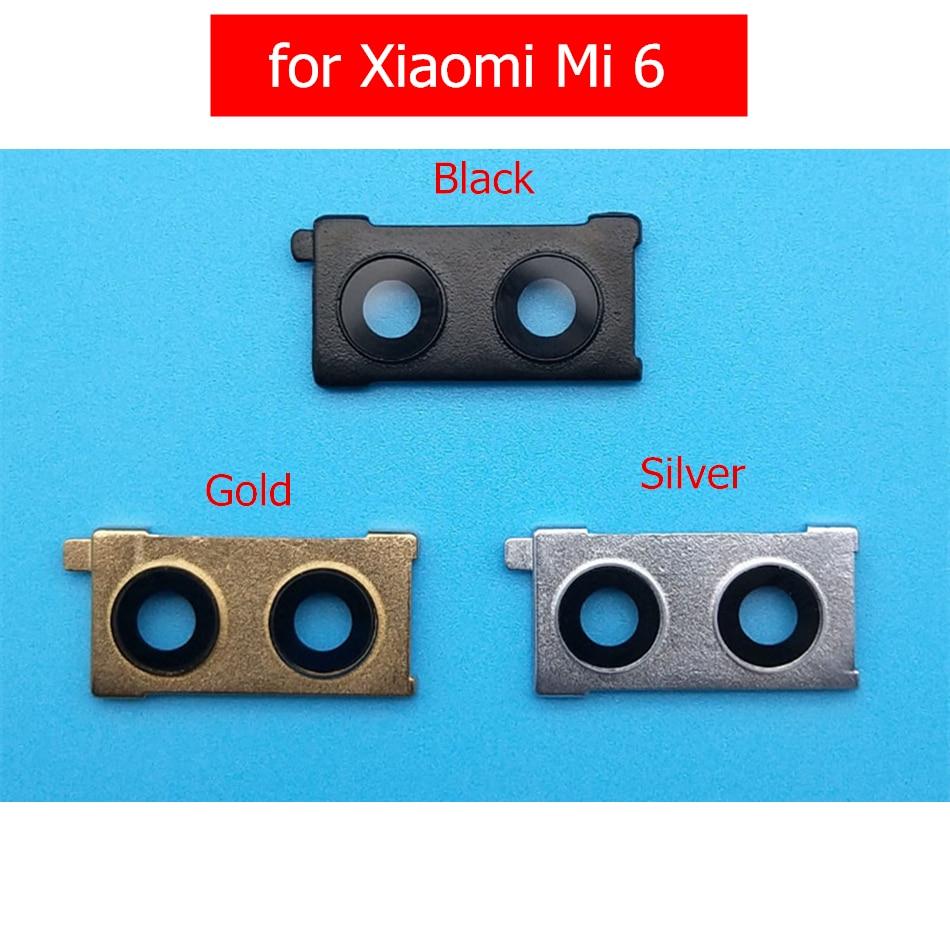 Frame-Holder Camera Glass Back-Rear Lens-Frame Repair-Spare-Parts Xiaomi for 6-camera/Glass/Lens-frame/..