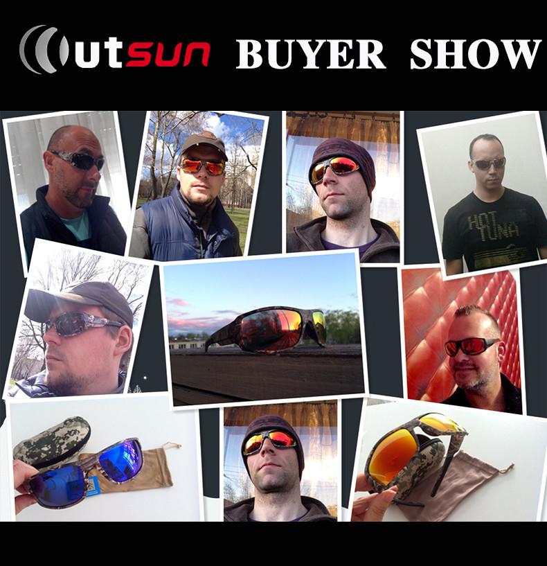 HTB1oU iJFXXXXcaXXXXq6xXFXXX2 - OUTSUN 2018 Polarized Sunglasses Men Women Sport fishing Driving Sun glasses Brand Designer Camouflage Frame De Sol