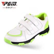 Pgm профессиональная обувь для гольфа мальчиков и девочек водонепроницаемые