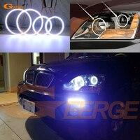 For Kia Sorento 2007 2008 2009 Excellent Ultra bright illumination COB led angel eyes kit halo rings