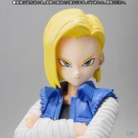 NEW 13cm Dragon Ball Android 18 lazuli movable Action figure toys doll Christmas gift with box