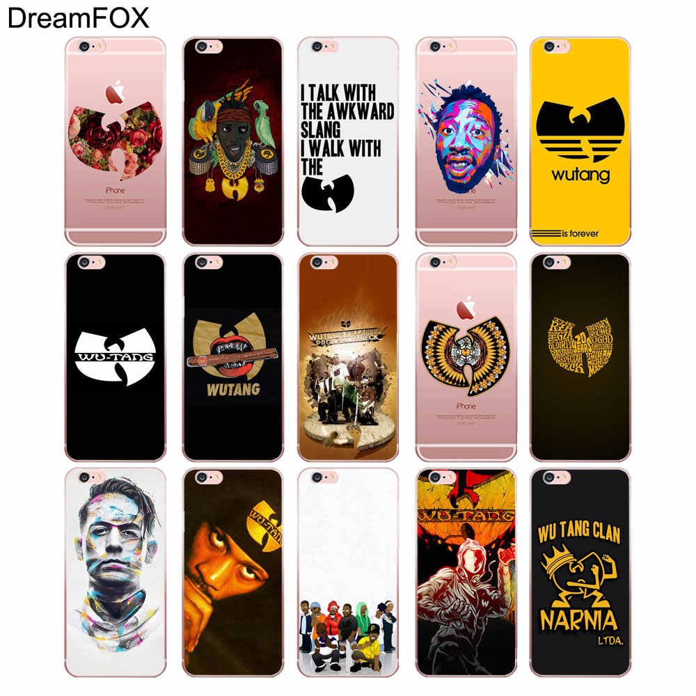 DREAMFOX M155 Wu Tang Killa ผึ้งนุ่ม TPU ซิลิโคนสำหรับ iphone ของ Apple iphone 11 Pro X XR XS Max 8 7 6 6S Plus 5 5S SE 5C 4 4S
