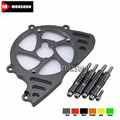 For KAWASAKI Z1000 2010-2016 2011 2012 2013 2014 Motorcycle Aluminum Front Sprocket Chain Guard Cover Left Side Engine Gray