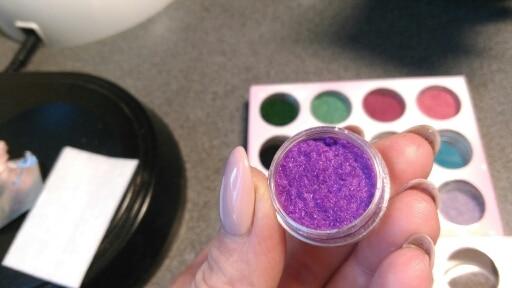 PLB11 Terciopelo Flocado Polvo de Uñas de Terciopelo 24 Colores / - Arte de uñas - foto 3