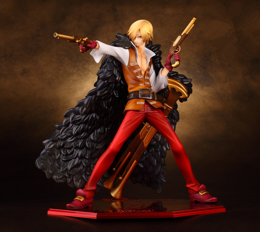 ФОТО 25cm One Piece POP Film Z Sanji Anime Collectible Action Figures PVC Collection toys for christmas gift Free shipping