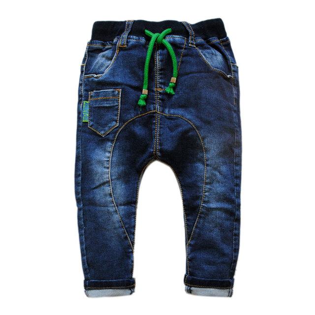 5985 pantalones del harem del bebé baby boy pantalones vaqueros del bebé del dril de algodón suave pantalones pantalones casuales muchacho de la manera del bebé de los pantalones vaqueros pantalones de primavera otoño