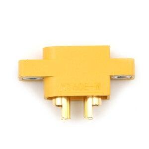 Image 4 - Pieza de repuesto DIY para multicóptero, placa fija, XT60E M amarillo, conector macho XT60 montable para modelos RC