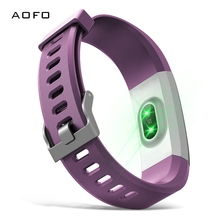 AOFO Fitness Tracker HR, Activity Watch with Heart Rate Monitor, Waterproof Smart Band Step Counter