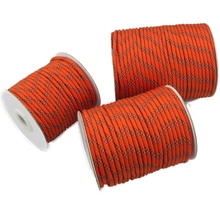 4MM Diameter Reflective String Windproof Tent Rope Guy Line For Camping Tent Kits Camping Rope Reflective Guy Ropes for Tents