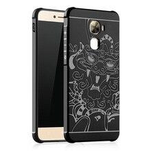Для Пусть V 2 LeEco Le2 X527 x520 Чехол Le 2 PRO X620 Крышка 3D Дракон Задняя Крышка Shell Силиконовые ТПУ Телефон Дела для Le PRO 3 X720