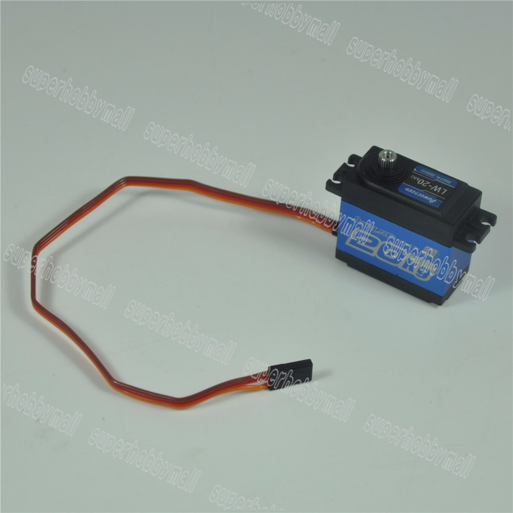 LW 20MG Standard Digital High Torque Servo For RC Cars Waterproof Airplane