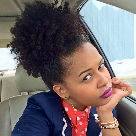 Afro Kinky Curly Hair Kinky Pony Tailhuman Hair Ponytail Extensions